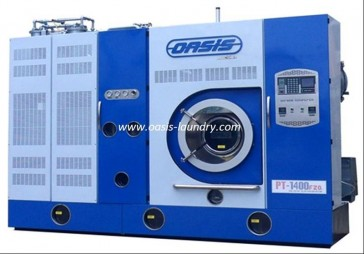 Degreasing machine for animal skins