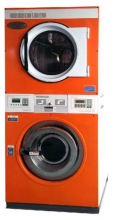 Stack washer dryer/Combo washer dryer/Commercial washer dryer/Coin washer dryer
