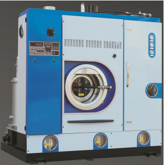 The 4th generation FULLY ENCLOSED PERC. Dry cleaning machine